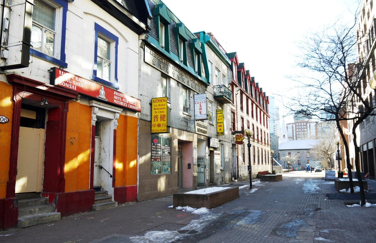 Crédits Marc-André Carignan - Rue de la Gauchetière