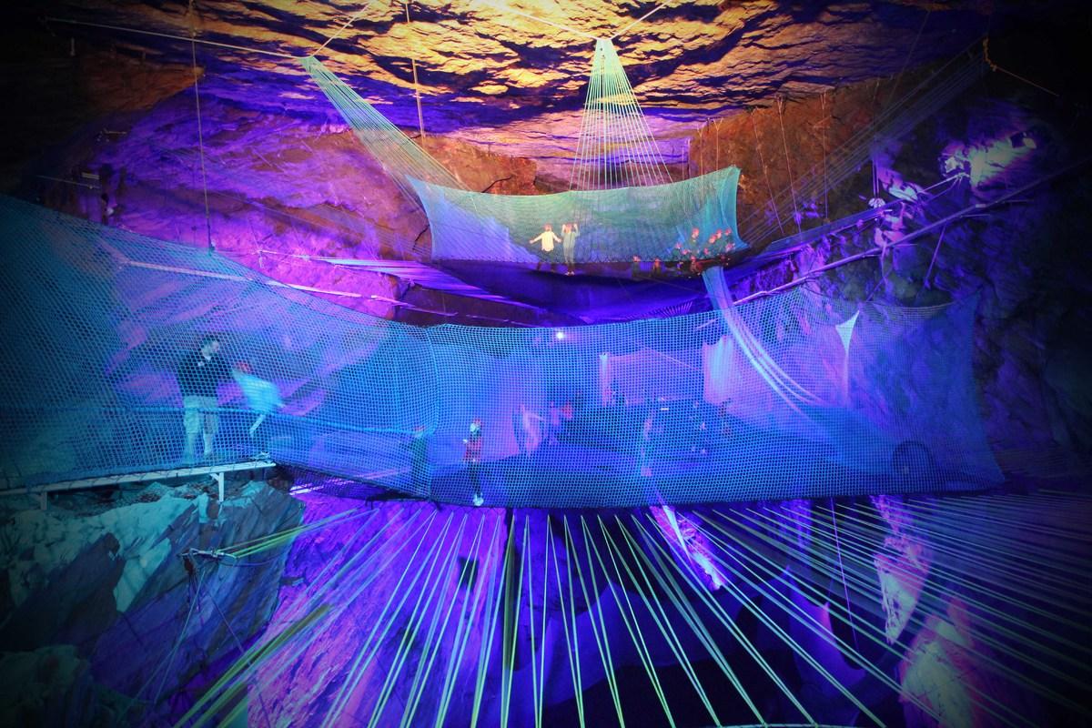 Bounce Below - Llechwedd Slate Caverns - 2