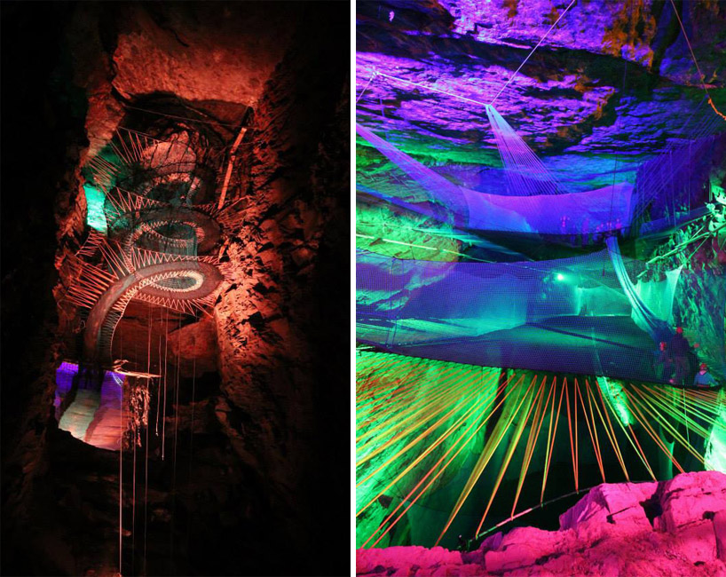 Bounce Below - Llechwedd Slate Caverns - 3