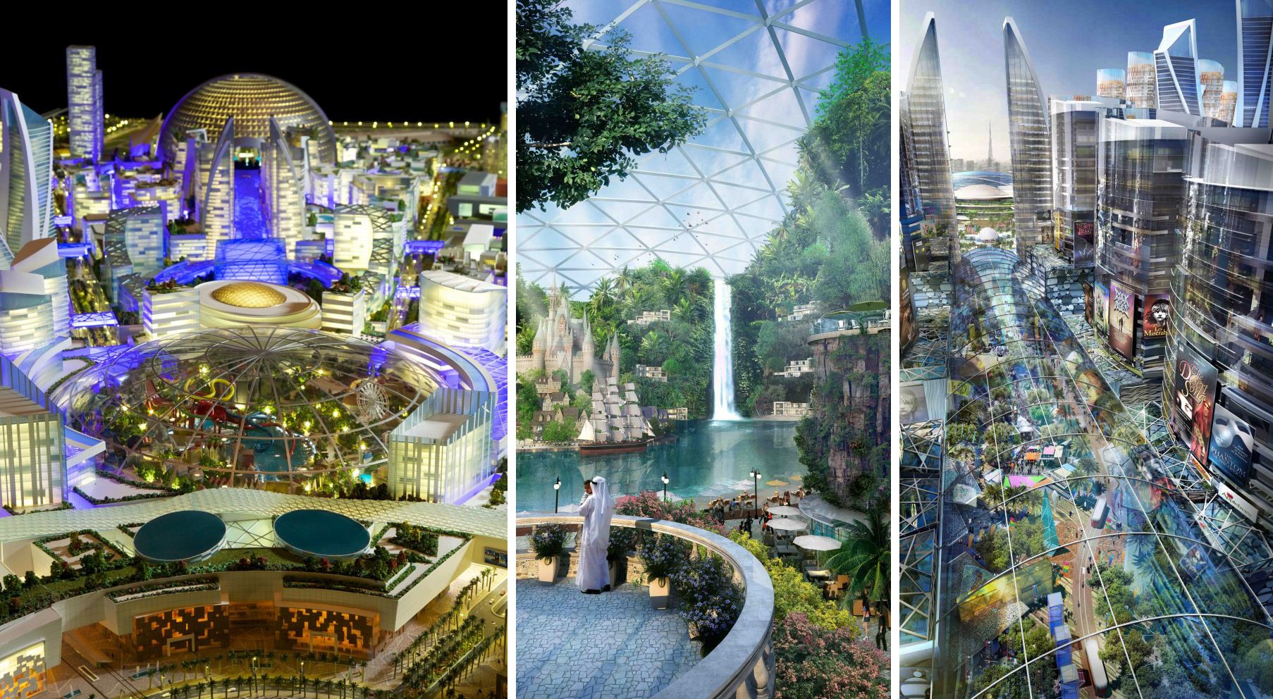 DubaÏ - Mall-of-the-world - Temperature-controlled-city_01