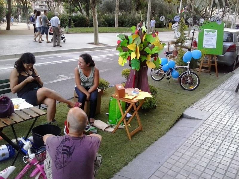 Alfons LCarrete - Park(ing) Day Barcelona