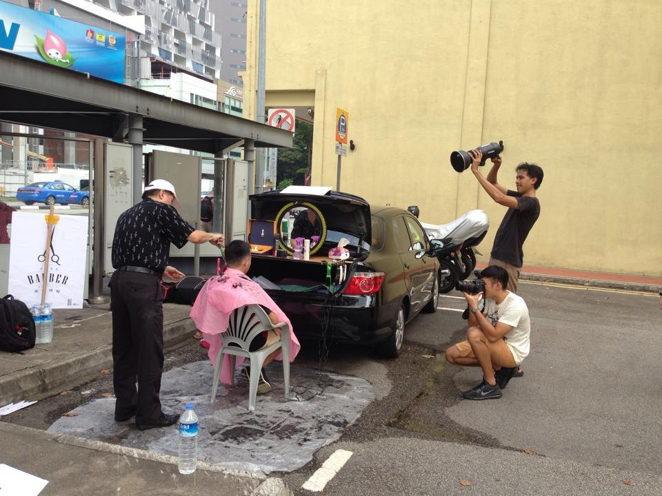Singapour PARKing Day Jalan Besar