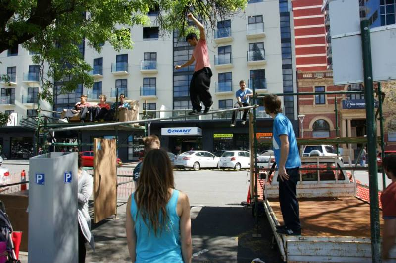 South Australian Parkour Association - Adelaide